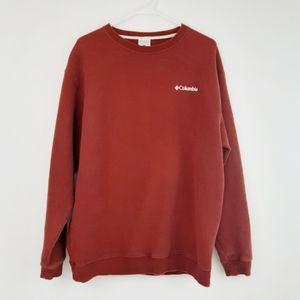 Columbia burnt orange crew neck sweatshirt